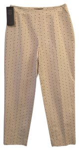 Piazza Sempione Capri/Cropped Pants Ivory, Black