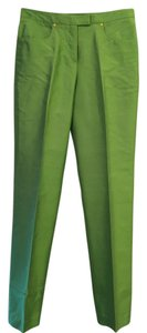 Versace Capri/Cropped Pants Lime Green