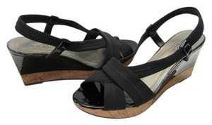 Sbicca Size 6.00 M (usa) Black Wedges