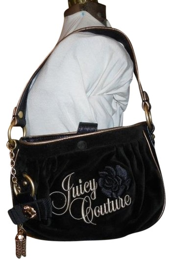 Preload https://item4.tradesy.com/images/juicy-couture-black-velour-and-faux-leather-trim-shoulder-bag-1236958-0-0.jpg?width=440&height=440