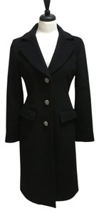 Laundry by Shelli Segal Wool-cashmere Blend Long Pea Coat