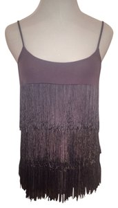 Ella Moss Fringe Fringe Party Summer Casual Top Lavender