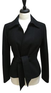 J.Crew Short Wrap Wool Black Jacket