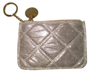 deux lux Deux Lux quilted leather key chain purse