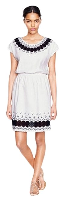 Preload https://item4.tradesy.com/images/jcrew-black-white-a7793-above-knee-workoffice-dress-size-2-xs-1237028-0-0.jpg?width=400&height=650