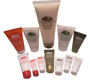 Origins Origins 12pc. products assorted Samples and Origins Ginger body Lotion. 3.4oz/100ml. Never used. NWOT/no box. Great discount.