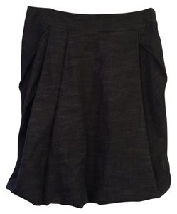 Pauw Amsterdam Bubble Layered Structured Skirt Dark Blue Denim