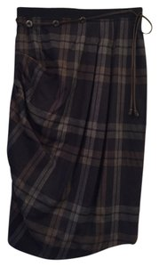 Gunex Skirt Blue plaid
