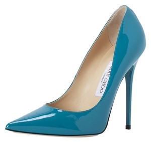 Jimmy Choo Brand New Turquoise Pumps