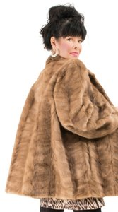 Saga Furs Plus Size Fur Fox Fur Red Fox Blouson Jacket Canadian Fox Canadian Red Fox Large Real Fur Mink Fur Mink Jacket Mink Fur Coat
