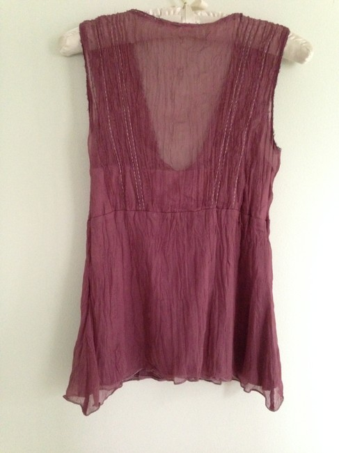 Elie Tahari Top Purple