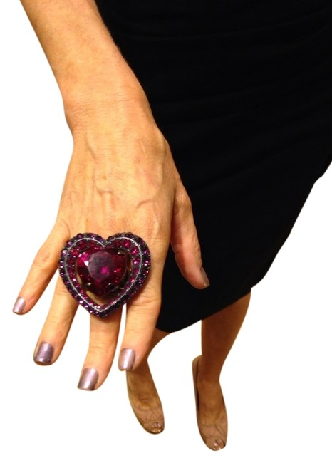 Item - Pink Love Heart Ring