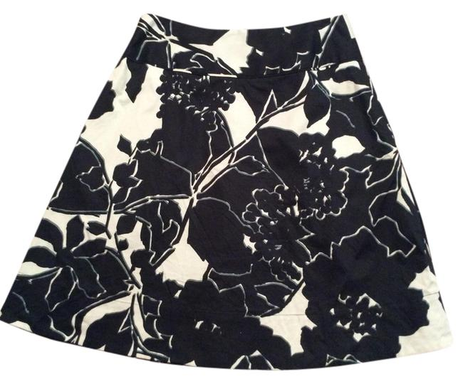 The Limited Skirt Black/forest green/off white
