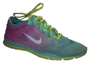 Nike Blue Pink Yellow Athletic