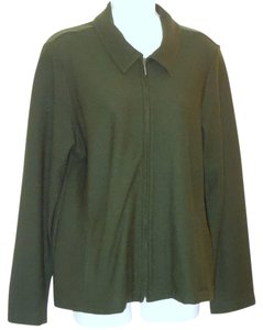 Eileen Fisher Green Jacket