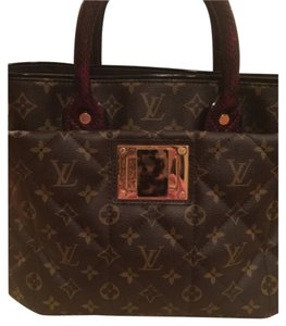 Louis Vuitton monogram exotique bordeaux (exotic runway bag) Tote in Monogram