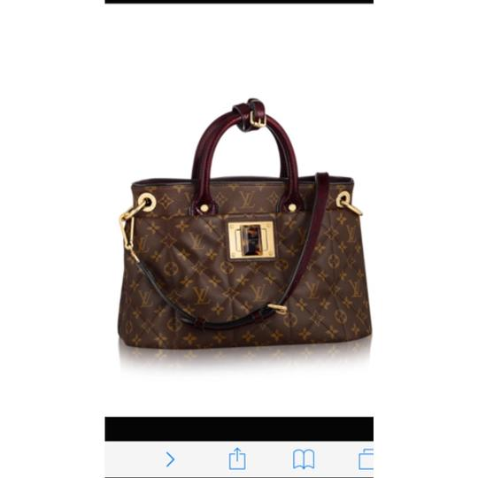 Louis Vuitton monogram exotique bordeaux (exotic runway bag) Tote in Monogram Image 10