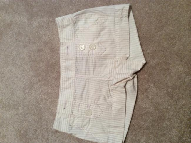 Express Dress Shorts White/hold pinstripe