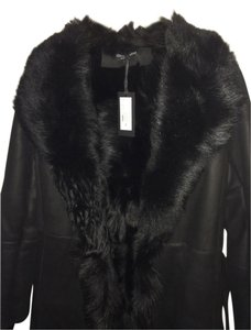 Kenneth Cole Fur Coat