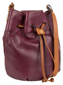 Kooba Bucket Leather Festival Shoulder Bag