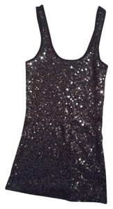 Express Top Black sequins