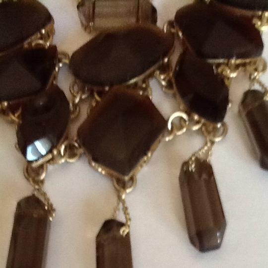 Banana Republic Brown And Gold Necklace