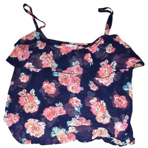 Kirra Top Blue And Pink