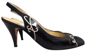 Bally Slingback Highheels Black Pumps