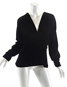 Ralph Lauren Collection Velvet Top Black