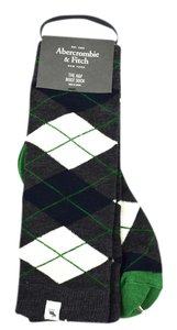 Abercrombie & Fitch Argyle Boot Sock