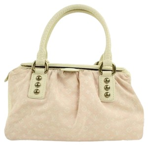 Louis Vuitton Pink Speedy 30 Rare Satchel in Monogram