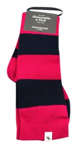 Abercrombie & Fitch Striped Slouchy Boot Socks