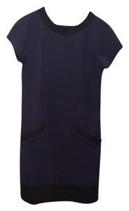 Laundry by Shelli Segal short dress blue/black on Tradesy