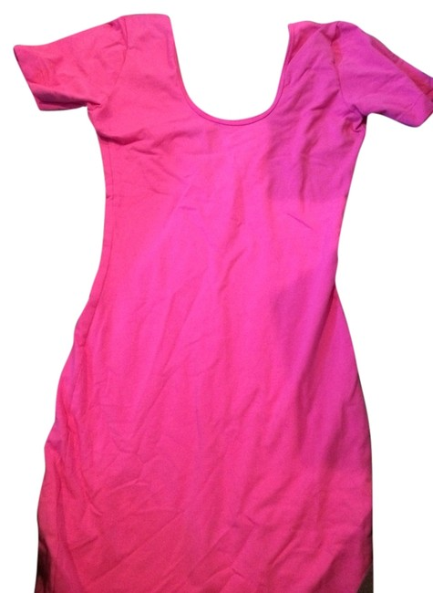 Preload https://item1.tradesy.com/images/american-apparel-pink-body-above-knee-night-out-dress-size-0-xs-1238270-0-0.jpg?width=400&height=650