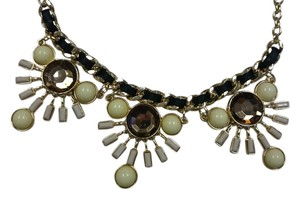 New York & Company Chain-link necklace with fake stones