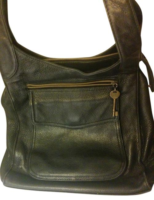 Item - 1954 Black Leather Messenger Bag