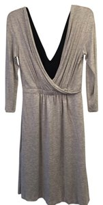 Alberta Ferretti short dress Gray on Tradesy