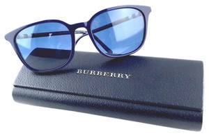 Burberry Burberry BE 4144 3399/80 54-18-140 Authentic Sunglasses Dark Blue with Logo Stripes