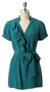 Anthropologie short dress Turquoise Green on Tradesy