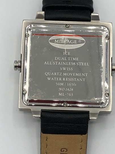 Millage Millage Dual Ice Square Watch Unisex