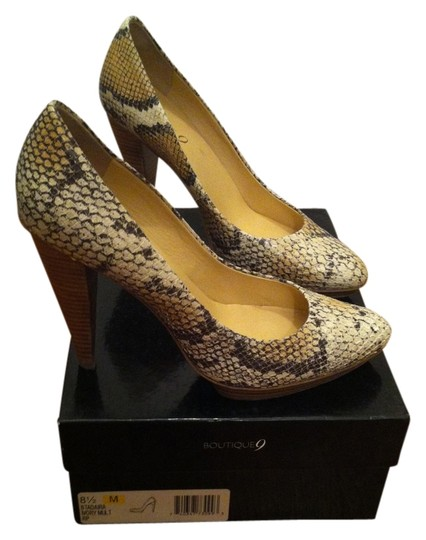 Preload https://item3.tradesy.com/images/boutique-9-ivory-multi-by-nine-west-btadaira-snake-reptile-heels-pumps-size-us-85-regular-m-b-1238572-0-0.jpg?width=440&height=440