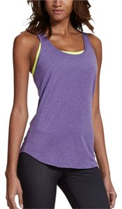 Under Armour Top Heathered Purple