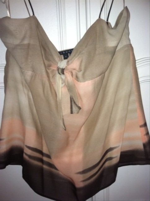 Theory Top Brown/peach/Nude