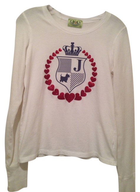 Juicy Couture Longsleeve T Shirt White