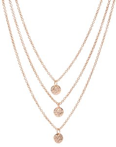 Gorjana Gorjana Rose Gold Plated Necklace