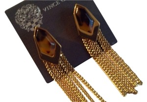 Vince Camuto Vince Camuto Arg Vil Tortoise Fringe Post Earrings