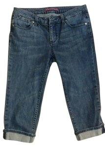 Vigoss Capri/Cropped Denim-Light Wash
