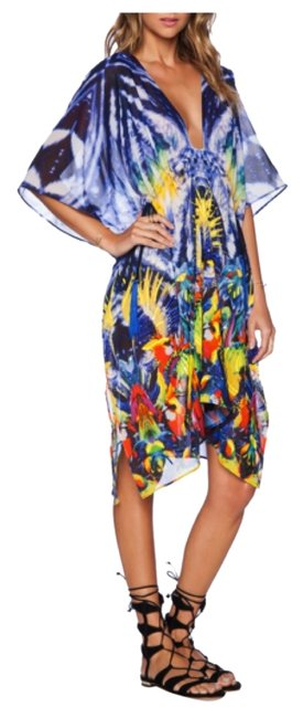 Item - Multicolor Esian Kaftan Cover-up/Sarong Size 6 (S)