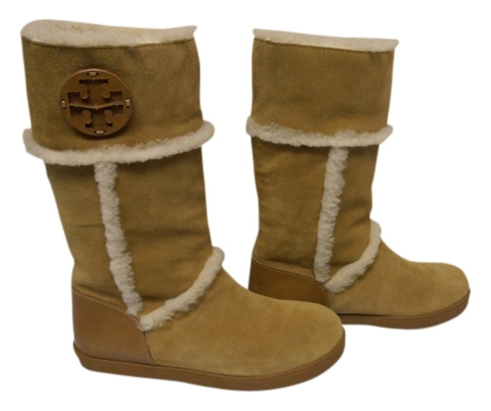 Tory Burch Tan Amelie Amelie Tan Shearling Boots/Booties 1ffb40