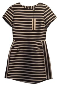 Topshop short dress Black & White & Beyonce Mini Striped on Tradesy